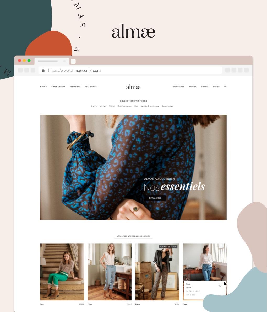 Almae, un site conçu et créé par I SEE U